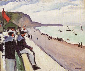 La Plage de Fecamp 1906 By Albert Marquet