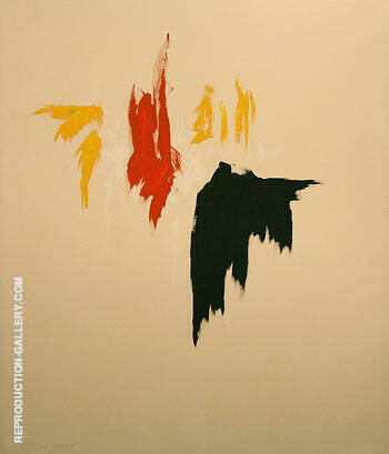 Untitled 1977 By Clyfford Still Replica Paintings on Canvas - Reproduction Gallery