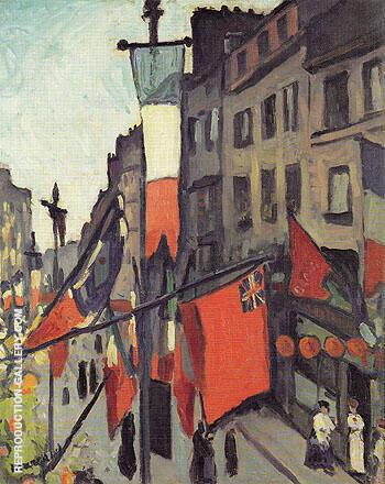 Le 14 Juillet au Havre 1906 By Albert Marquet