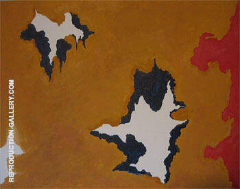 Untitled B Painting By Clyfford Still - Reproduction Gallery