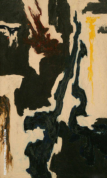 Untitled c1946 By Clyfford Still