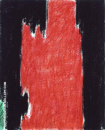 Untitled PH 104 1952 By Clyfford Still