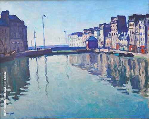 Bassin au Havre 1906 By Albert Marquet