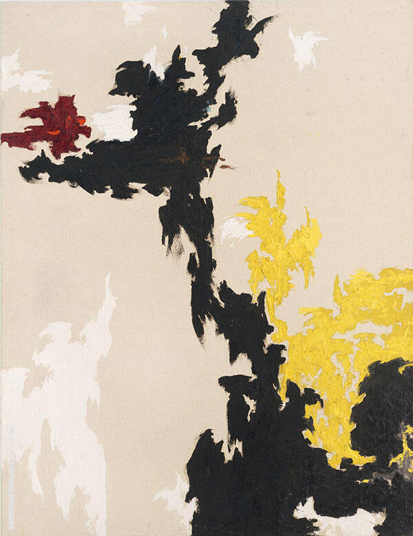 Untitled PH 118 1947 By Clyfford Still
