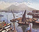 Le Port de Naples 1909 By Albert Marquet