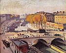 Le Pont Saint Michel et le Quai des Grands Augustins 1912 By Albert Marquet
