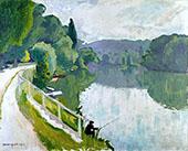 Bords de Riviere 1913 By Albert Marquet