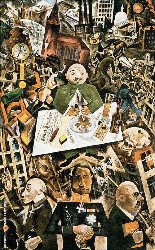 A Winters Tale By George Grosz