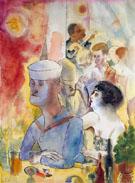 Grey Matrose im Nactlokal 1925 By George Grosz