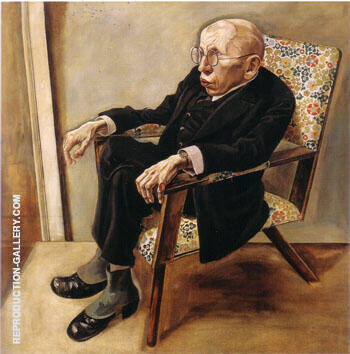 The Writer Max Herrmann Neisse 1925 By George Grosz