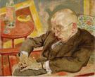 The Writer Max Herrmann Neisse 1927 By George Grosz