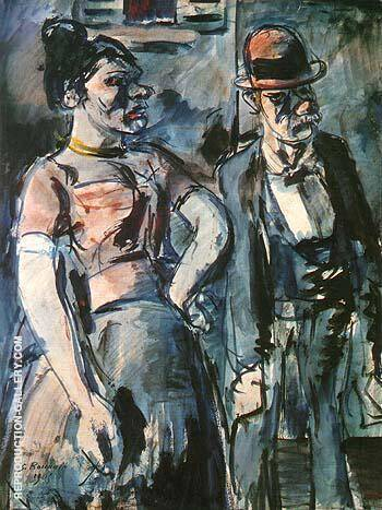 The Poulots 1905 Painting By George Rouault - Reproduction Gallery