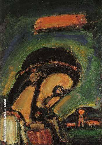 Head of Christ 1937 By George Rouault