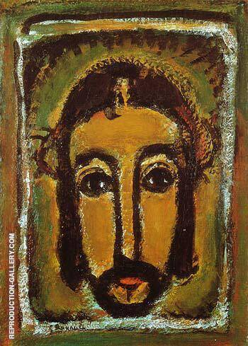 The Holy Countenance 1946 Painting By George Rouault
