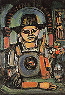 The Chinese Man 1937 By George Rouault