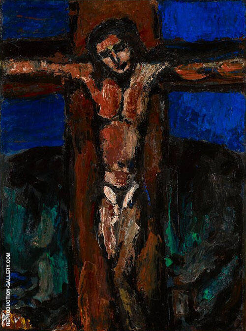 Crucifixion of Christ By George Rouault