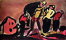 Faubourg c1910 By George Rouault
