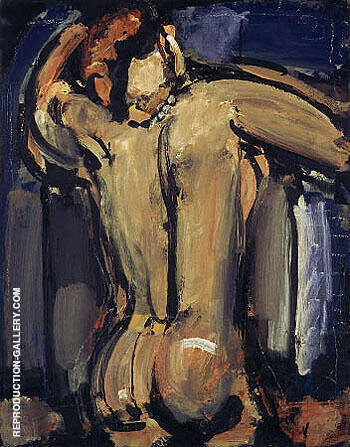 Nude Back 1910 By George Rouault