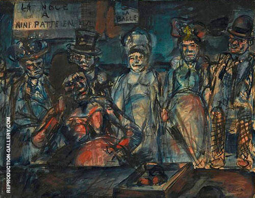 Slaughter 1905 By George Rouault Replica Paintings on Canvas - Reproduction Gallery