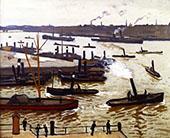 Rotterdam 1914 By Albert Marquet