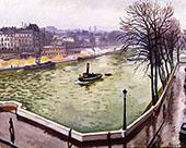 La Seine a Paris 1914 By Albert Marquet