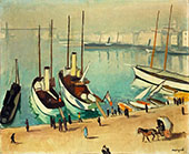 Le Vieux Port a Marseille 1917 By Albert Marquet