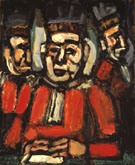 The Tree Judges c1936 By George Rouault