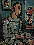 Le Pierrot Sage By George Rouault