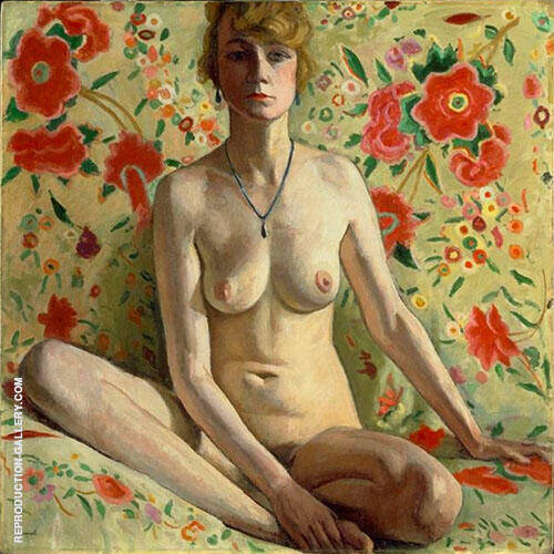 La Femme Blonde 1919 Painting By Albert Marquet - Reproduction Gallery