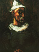 Clown 1912 By George Rouault