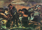 The Fugitives Exodus 1911 By George Rouault