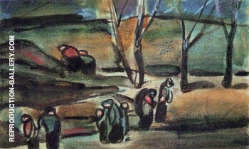 Winter III 1910 By George Rouault