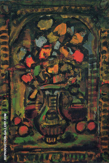 Decoration Flowers c1953 By George Rouault