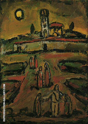 At the End of Autumn III 1952 By George Rouault