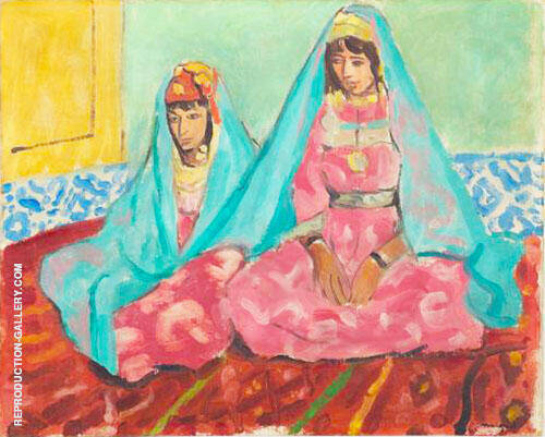 Reproduction of Femmes de Laghouat 1921 by Albert Marquet | Oil Painting Replica On CanvasReproduction Gallery