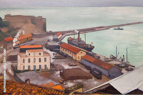 Le Port de Bougie Par Temps Gris 1925 By Albert Marquet