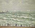 Port de Boulogne 1930 By Albert Marquet