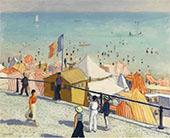 Ete La Plage Des Sables d'Olonne 1933 By Albert Marquet