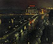 Le Pont Neuf La Nuit 1935 By Albert Marquet