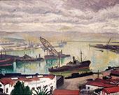 Port d'Alger 1935 By Albert Marquet