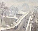 Le Pont Neuf Sous la Neige 1947 By Albert Marquet