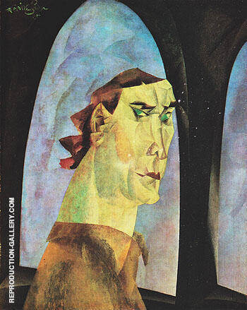 Self Portrait 1915 By Lyonel Feininger