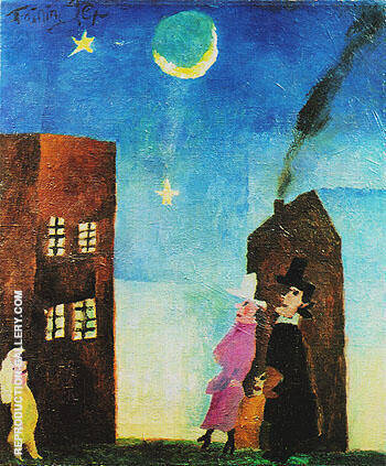The Stargazers 1916 By Lyonel Feininger