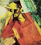 Portrait of a Tragic Being 1920 By Lyonel Feininger