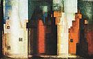 Architecture III Gables II 1927 By Lyonel Feininger