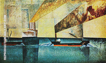 Marine 1927 By Lyonel Feininger Replica Paintings on Canvas - Reproduction Gallery