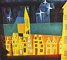 Stars above the Town 1932 By Lyonel Feininger
