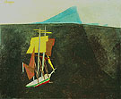 The Blue Island 1934 By Lyonel Feininger