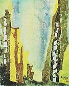 Manhattan I 1940 By Lyonel Feininger