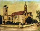 Beaulieu Church By Maurice Utrillo